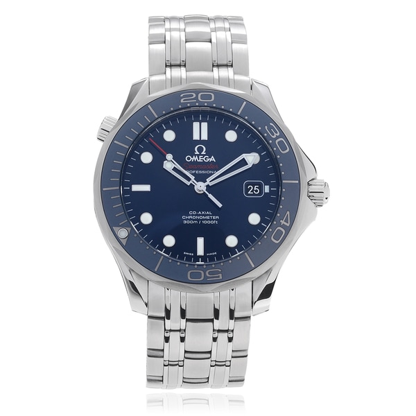 Omega Men's 'Seamaster Diver' Co-Axial Link Watch