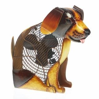 Deco Breeze DBF2436 Decorative Dog Figurine Fan