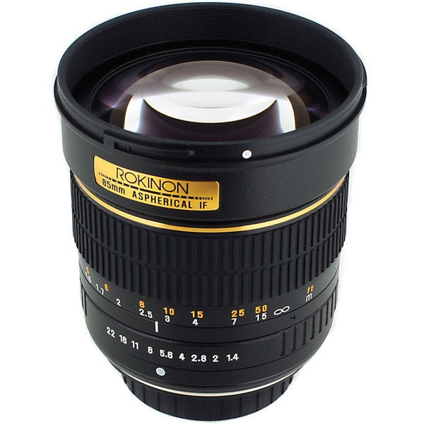 Rokinon 85mm f/1.4 AS IF UMC Lens for Samsung NX Mount
