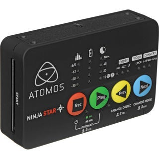 Atomos Ninja Star Pocket-Size ProRes Recorder and Deck