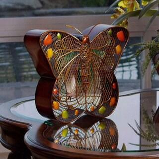 Beautiful Butterfly Figurine Fan