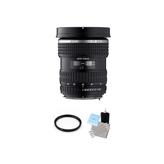 Pentax smc FA 645 33-55mm f/4.5 AL Lens with UV Filter and Cleaning Bundle