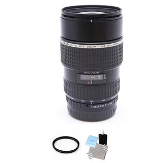 Pentax smc FA 645 80-160mm f/4.5 Lens with UV Filter and Cleaning Bundle