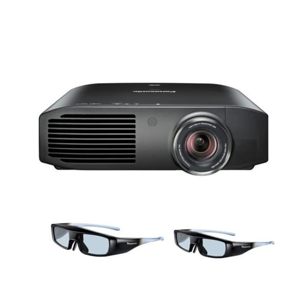 Panasonic PT-AE8000U 2400 Lumens 3D 1080p LCD Projector with 2 Pairs of 3D Glasses