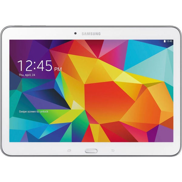 Samsung Galaxy Tab 4 10.1-inch 16GB Wi-Fi Tablet - White
