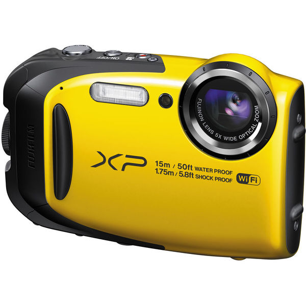 Fujifilm FinePix XP80 Yellow Digital Camera