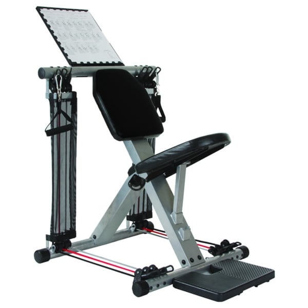 Flex Force 50-in-1 Resistance Chair Gym Complete Workout System