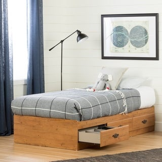 South Shore Prairie Twin Mates Bed (39'') with 3 Drawers