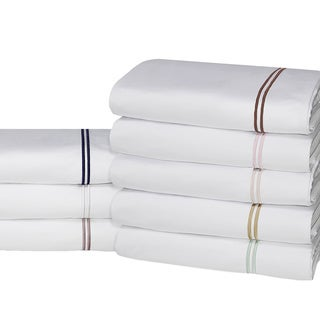 Elle 4-piece 1200 Thread Count Cotton-rich Embroidery Sheet Set