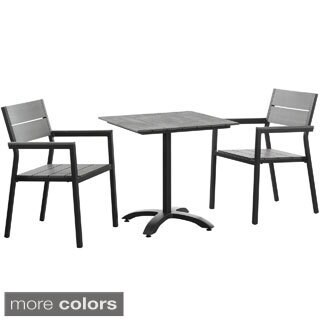 Modway Main 3-Piece Outdoor Patio Dining Set