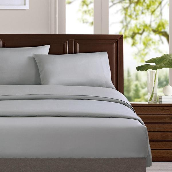 Certified Organic Cotton Sateen Sheet Set