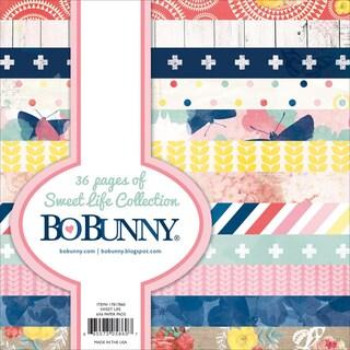 BoBunny Paper Pad 6inX6in 36/PkgSweet Life