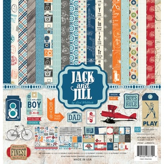 Echo Park Collection Kit 12inX12inJack & Jill Boy