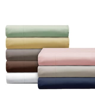 Elle 1000 Thread Count Cotton-rich Pinstripe 4-piece Sheet Set