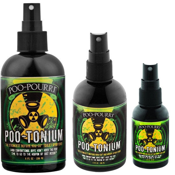 Poo-Pourri Poo-Tonium Air Freshener Set