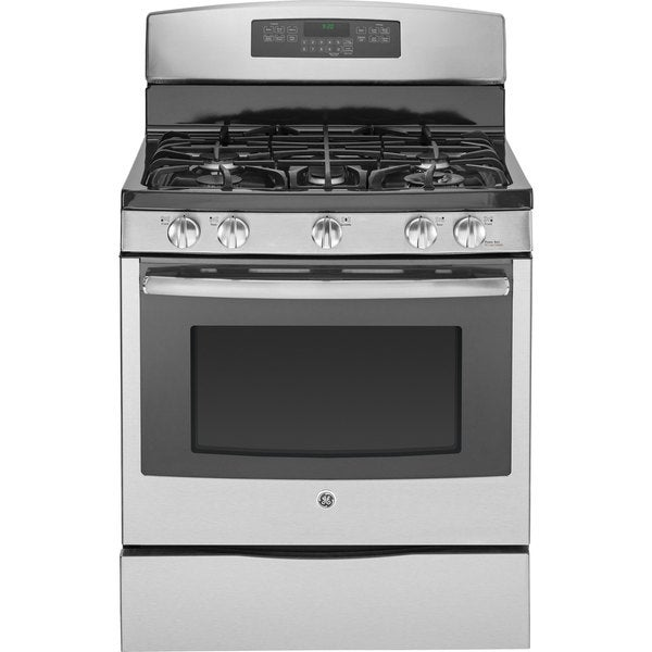 GE 30-inch Freestanding Stainless Steel Gas Range