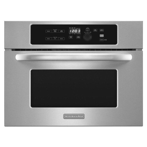 KitchenAid 24-inch Built-in Stainless Steel Microwave Oven