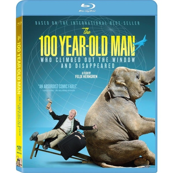 The 100 Year-Old Man Who Climbed Out the Window and Disappeared (Blu-ray Disc) 15457269