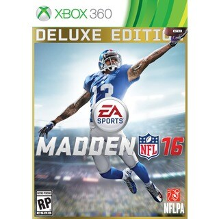Xbox 360 - Madden NFL 16 Deluxe Edition