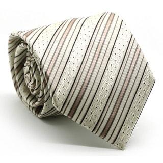 Ferrecci Mens Premium Dotted Striped Neckties