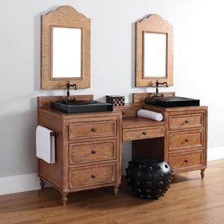 James Martin Distressed Brown 22-inch Modular Drawers