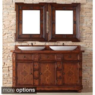 James Martin Distressed Ash 60-inch Double Bathroom Vanity