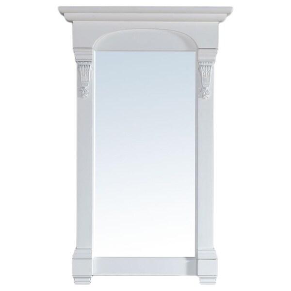 James Martin Brookfield White 26-inch Mirror