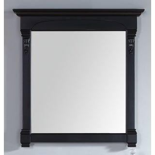 James Martin Brookfield Black 39.5-inch Mirror