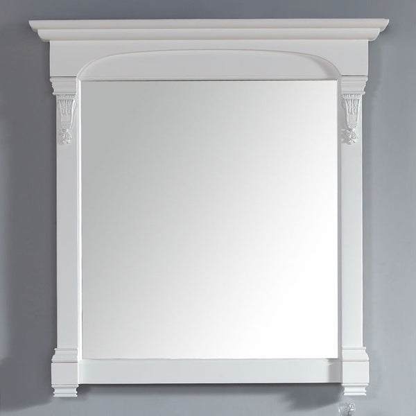 James Martin Brookfield White 39.5-inch Mirror