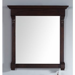 James Martin Brookfield Mahogany 39.5-inch Mirror