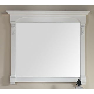 James Martin Brookfield White 47.25-inch Mirror