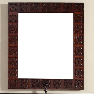 James Martin 37-inch Brown Mirror