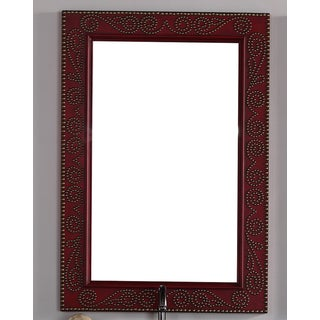 James Martin Oak 30-inch Mirror