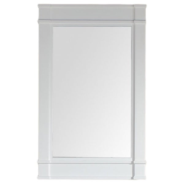 James Martin White 26-inch Mirror