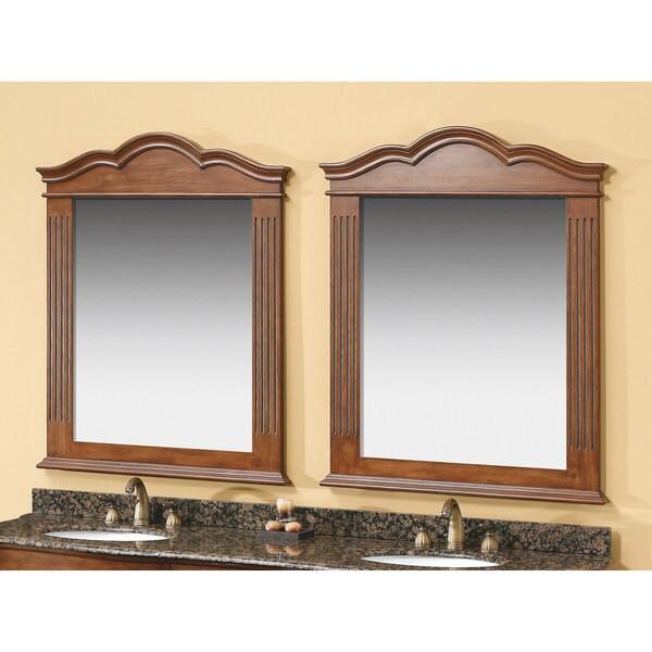 James Martin Florentine Cherry 32-inch Mirrors
