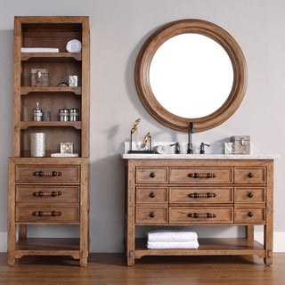 James Martin Malibu Brown Linen Hutch
