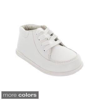 Boys' Walking Shoes, Black, White