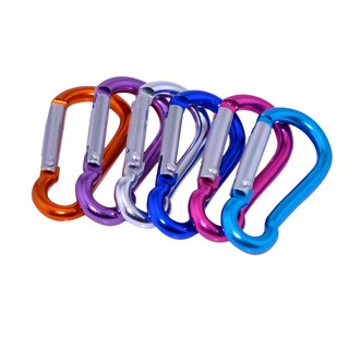 Patuoxun Mixed Color Stainless Steel Carabiner (Set of 2)
