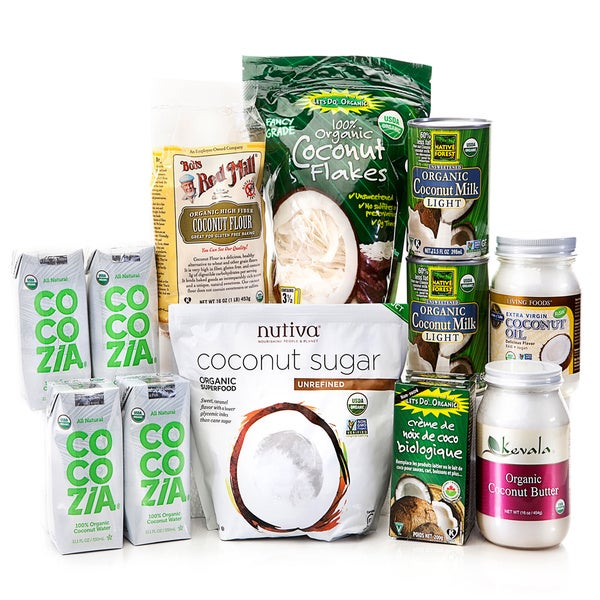 Green PolkaDot Box Coconut Essentials Bundle