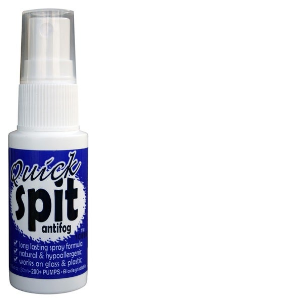 Jaws Quick Spit Antifog Spray 1-ounce Wet or Dry Applications