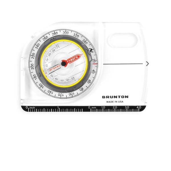 Brunton TruArc5 Baseplate Compass Global Needle MapMagnifier