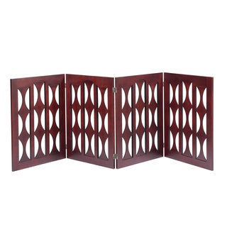Agatha 32-inch Gate (4 Panels) by Elegant Home Fashions