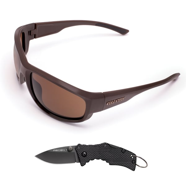 Cold Steel Mark II Dark Brown Battle Shades