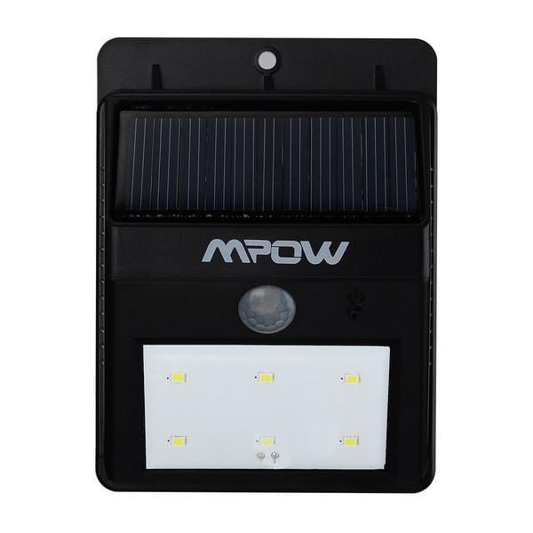 Mpow Solar-powerde Wireless Security Motion Sensor Light