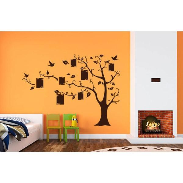 Family Tree Vinyl Sticker Wall Art