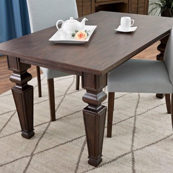 Bessie 59-inch Dark Espresso Dining Table