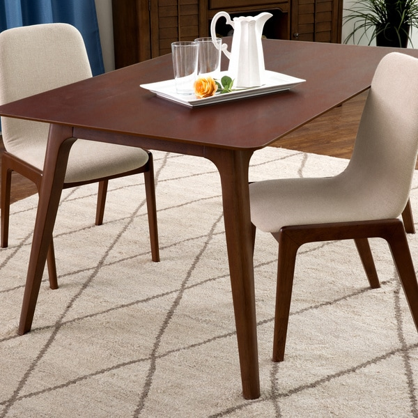 Dark Oak 59-inch Dining Table