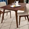 Dark Oak 59-inch Dining Table