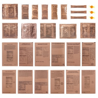Emergency Essentials 3-day MRE Food Supply