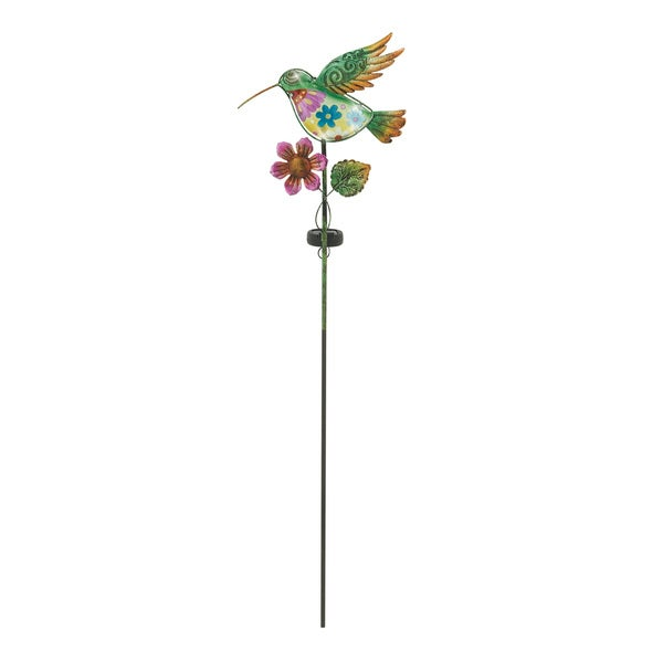 Striking Metal Glass Ground Stake